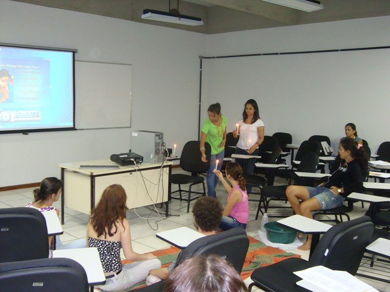 Sahaja Yoga Classes In Brazil University 6