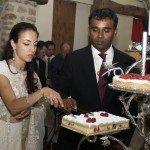 Shri-Mataji-In-France-wedding-cake