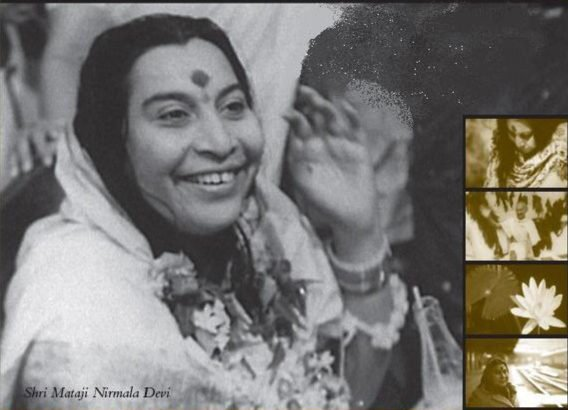 Freedom and Liberation Poster with Shri Mataji Nirmala Devi